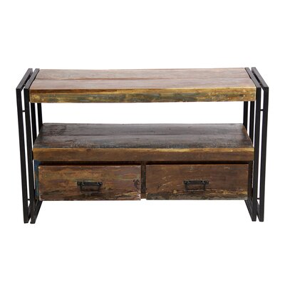 41 TV Stand Color: Industrial Rustic