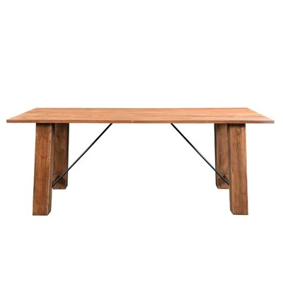 Angled Dining Table Size: 30 inch H x 80 inch W x 36 inch D