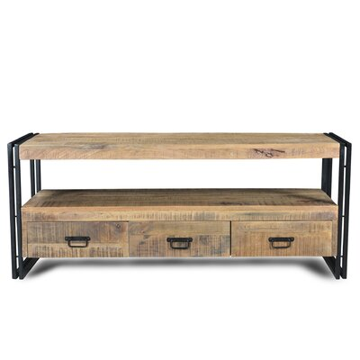 60 TV Stand Color: Natural Wood