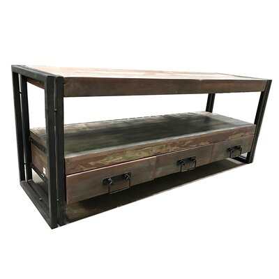 60 TV Stand Color: Rustic/Natural wood