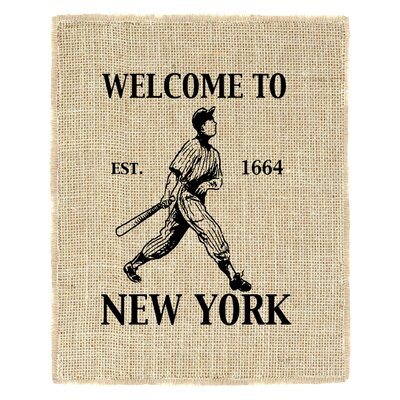 Welcome to New York Vintage Advertisement new-york-yankees-UN-8x10