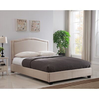 Annapolis Upholstered Platform Bed Size: King