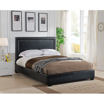 Baffin Upholstered Platform Bed Size: Queen, Color: Black