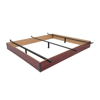 Mantua Wood Bed Frame Size: King