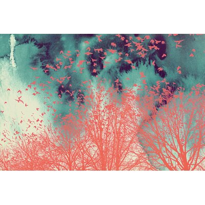'Into The Wild' Graphic Art on Canvas Size: 16