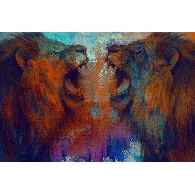 "'Awake' Graphic Art Print on Canvas Size: 32"" H x 48"" W x 2"" D SS300C-C"