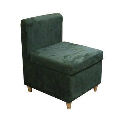 Slipper Chair Upholstery: Dark Green