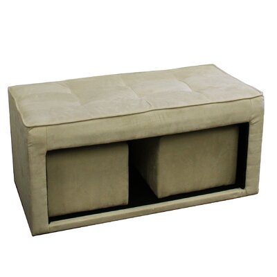 Storage Ottoman with Hidden Seating