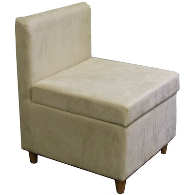 Slipper Chair Upholstery: Cream