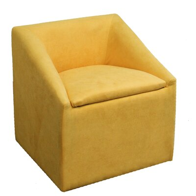 Arm Chair Color: Yellow