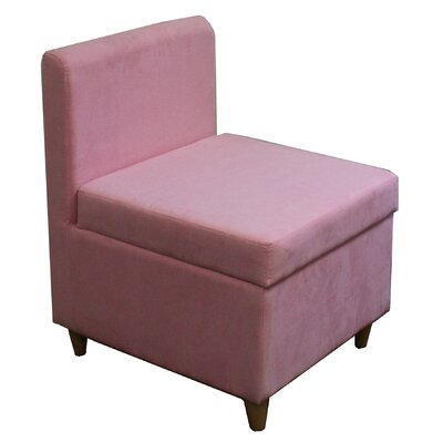 Slipper Chair Upholstery: Pink
