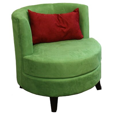 Ore Barrel Chair with Pillow