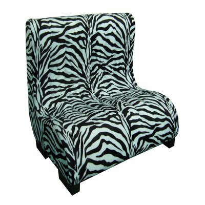 Upholstered Plush Zebra Tufted Dog Bed