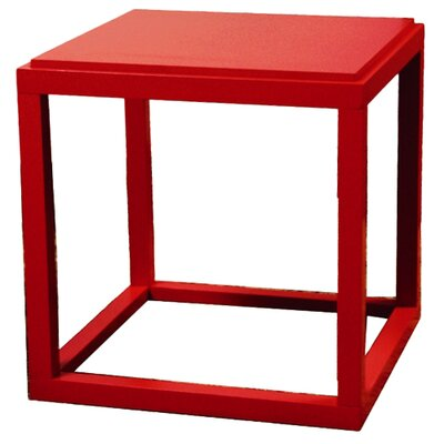Ulrich End Table Color: Red