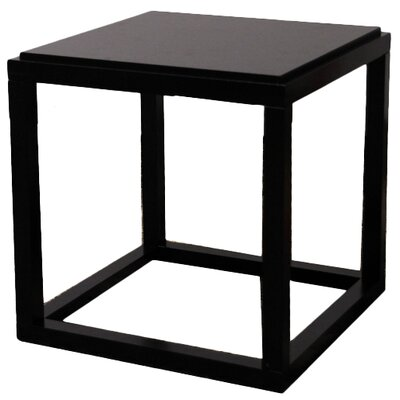 Ulrich End Table Color: Black