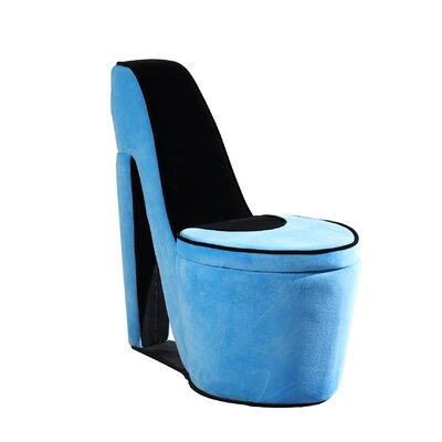 Elford High Heel Storage Side Chair