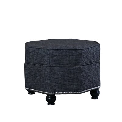 Griffith Hexagon Storage Ottoman