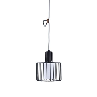 Ivonne Wire Cage 1-Light Foyer Pendant