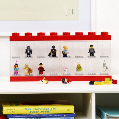 Mini figure Display Case for 16+ Finish: Red 40660601