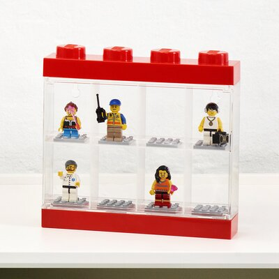 Mini figure Display Case for 8 Finish: Red 40650601