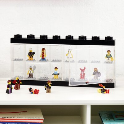 Mini figure Display Case for 16+ Finish: Black 40660603