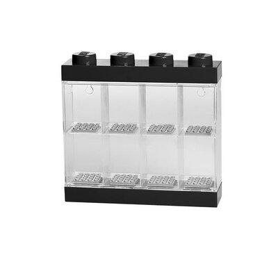 Mini figure Display Case for 8 Finish: Black 40650603