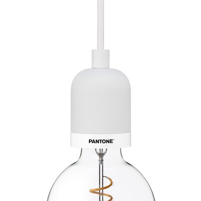 Deneb 1-Light Mini Pendant Finish: Brilliant White