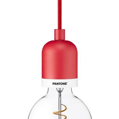 Deneb 1-Light Mini Pendant Finish: Cardinal