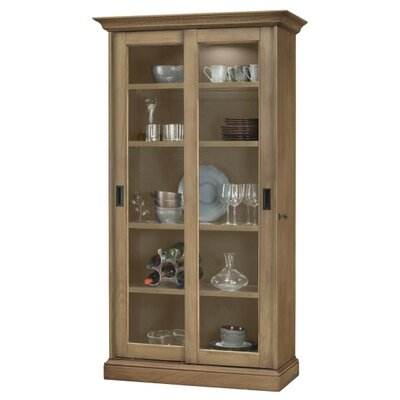 Meisha Curio Cabinet Finish: Aged Natural