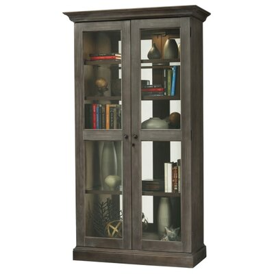 Kane Standard Curio Cabinet Finish: Aged Gray