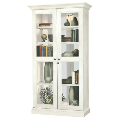 Kane Standard Curio Cabinet Finish: White