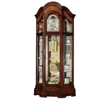 Majestic Ii 88.25 Grandfather Clock and Curio Cabinet