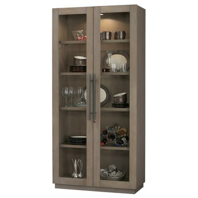 Morrissey Curio cabinet Finish: Aged Gray
