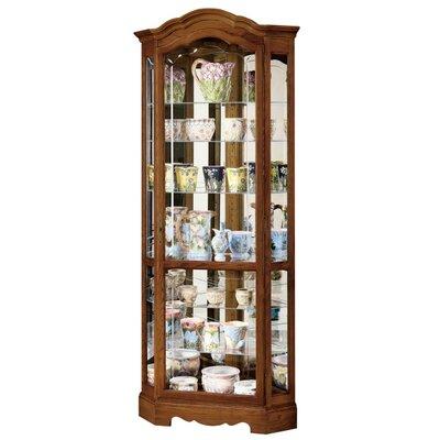 Jamestown Ii Corner Curio Cabinet