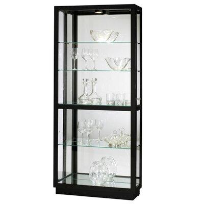 Jayden Standard Curio Cabinet Finish: Gloss Black
