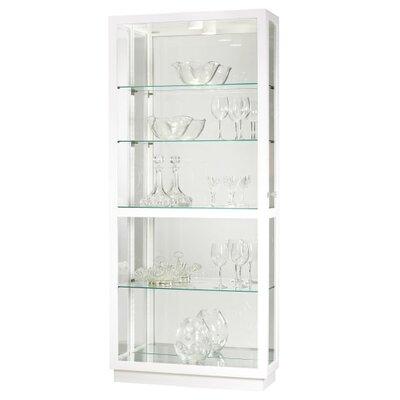 Jayden Standard Curio Cabinet Finish: Gloss White