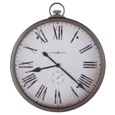 "Oversized 30"" Gallery Pocket Watch Wall Clock 625572"