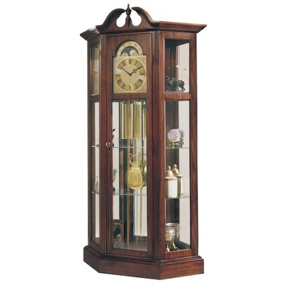 Richardson I Grandfather Clock and Standard Curio Cabinet