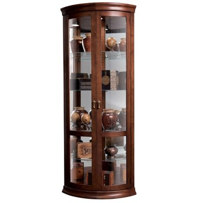 Chancellor Corner Curio Cabinet
