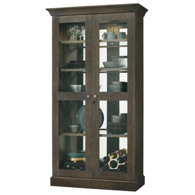 Densmoore Standard Curio Cabinet Finish: Java