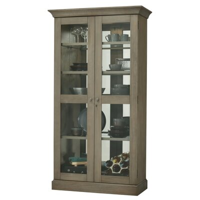 Densmoore Standard Curio Cabinet Finish: Gray
