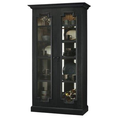 Chasman Standard Curio Cabinet Finish: Black