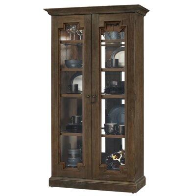 Chasman Standard Curio Cabinet Finish: Umber