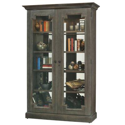 Desmond V Standard Curio Cabinet Finish: Auburn