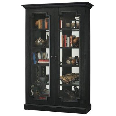 Desmond V Standard Curio Cabinet Finish: Black