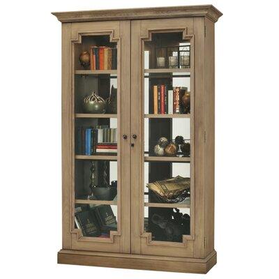 Desmond V Standard Curio Cabinet Finish: Natural