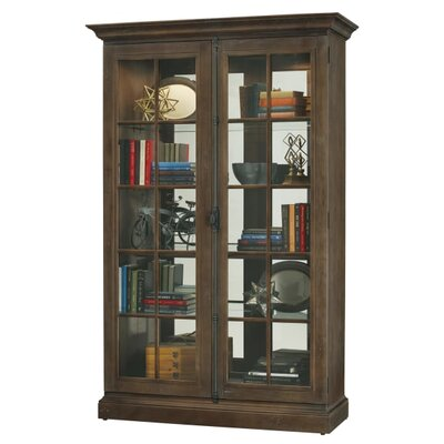 Clawson Standard Curio Cabinet Finish: Umber