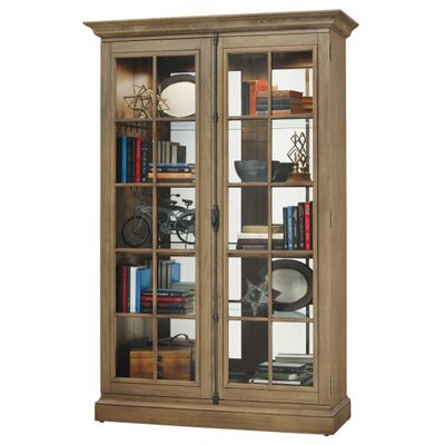 Clawson Standard Curio Cabinet Finish: Natural