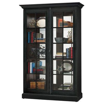 Clawson Standard Curio Cabinet Finish: Black