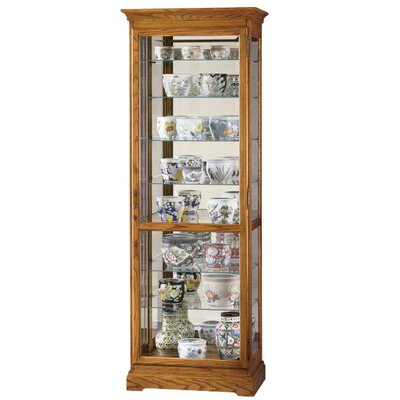 Chesterfield Standard Curio Cabinet Finish: Natural